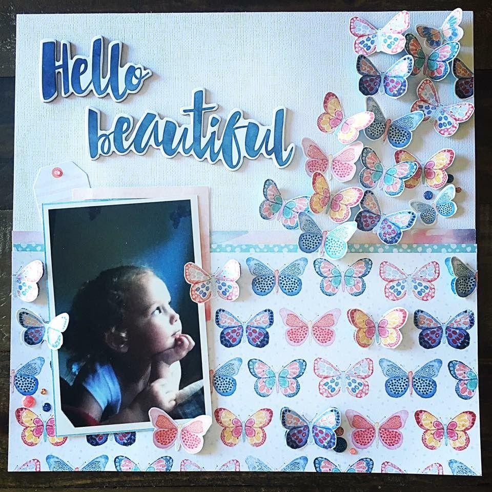 Hello Beautiful - Simple Stories - Vintage Blessings