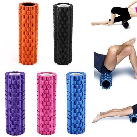 Yoga Pilates Massage Fitness Exercise Rollers EVA Foam Roller Muscle Back Pain