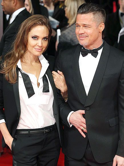 Stars Who Got Married In France Brad And Angelina Brad Pitt And