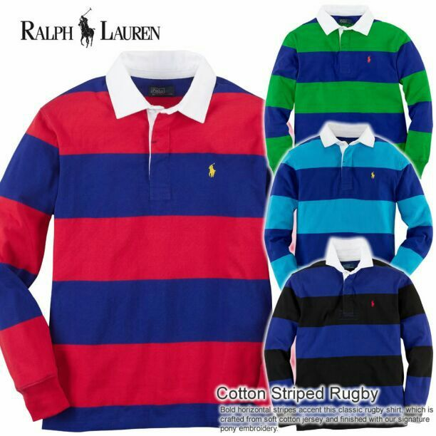 456de3f0b Polo Ralph Lauren Rugby long sleeve. Red and navy blue. Men\u0027s size