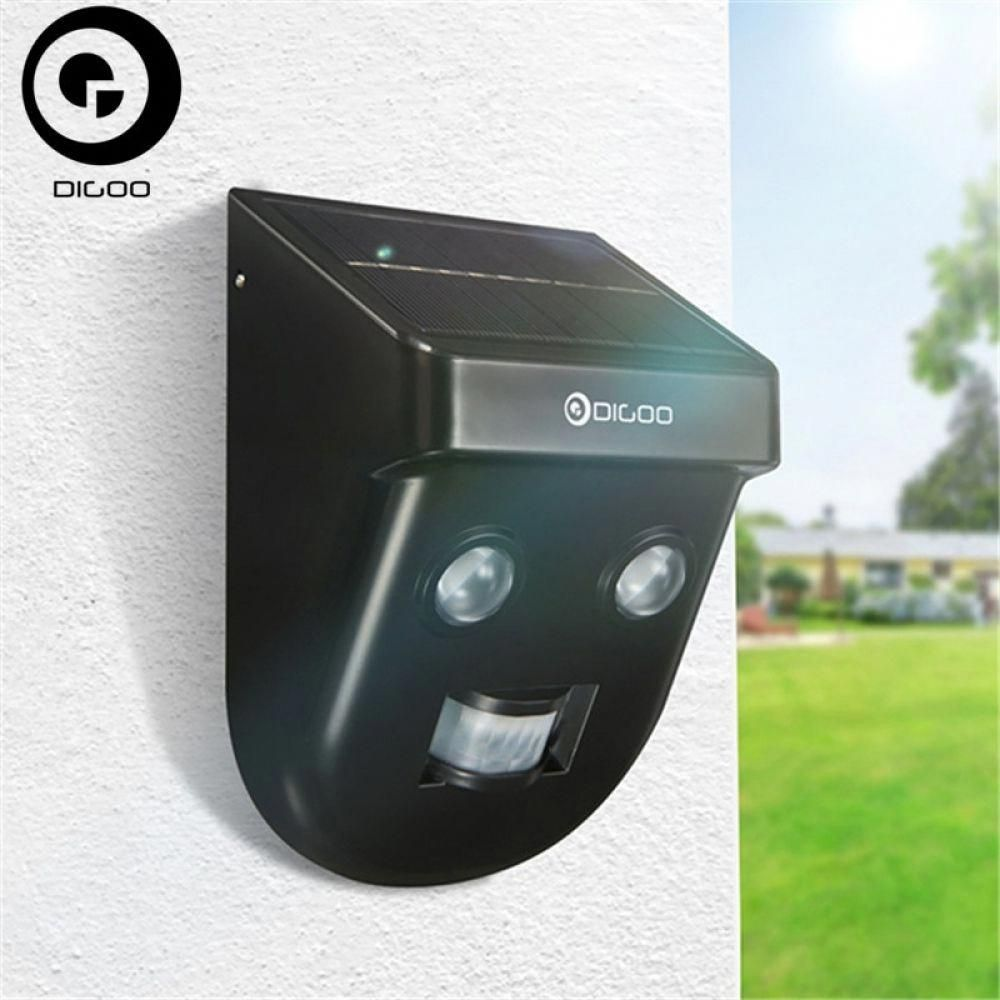 Digoo dgssr1 solar wireless pir sensor longdistance
