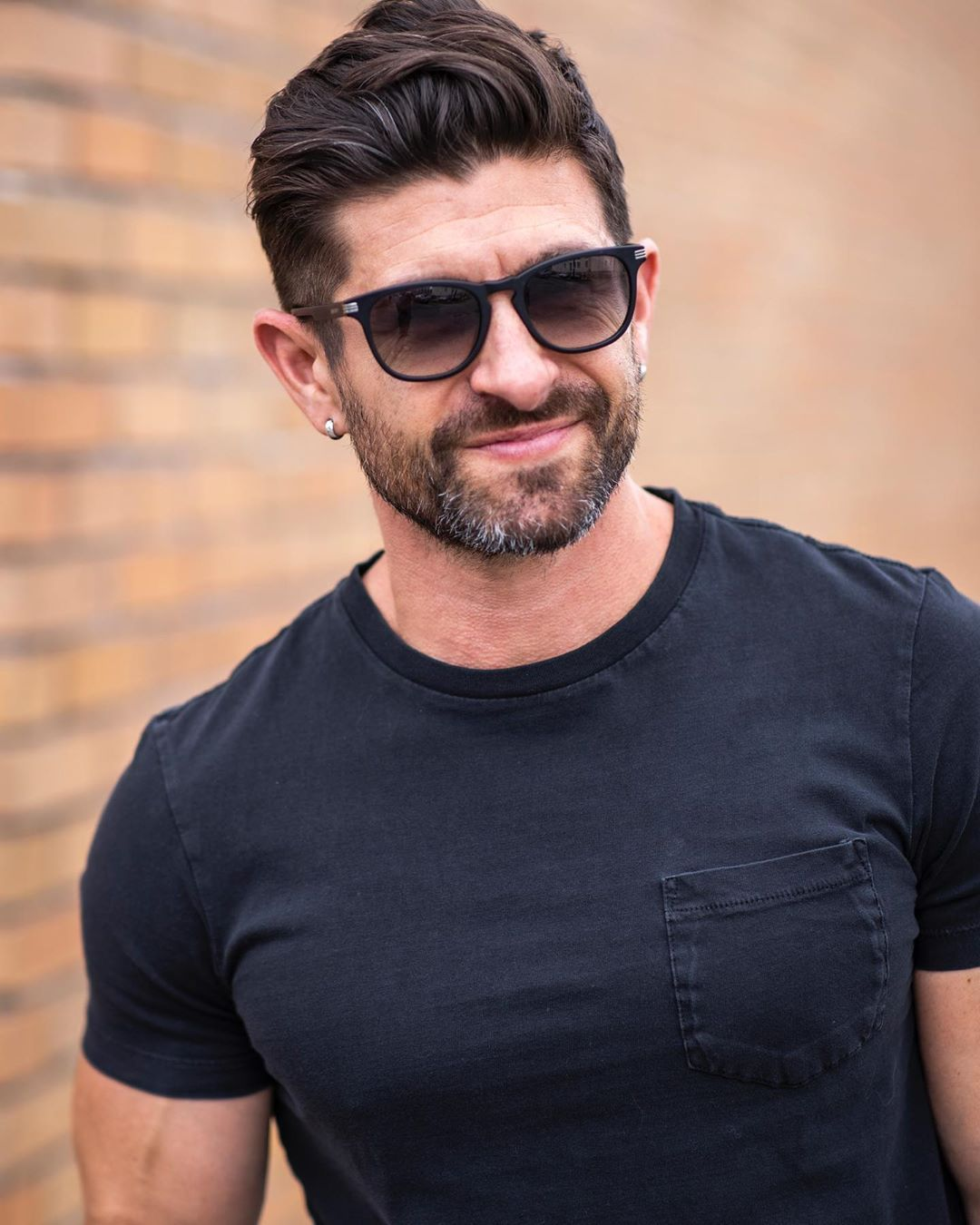 Alpha M Haircut : alpha, haircut, @aaronmarino, Aaron, Marino, (Alpha, Looking, Ahead, Weekend., Square, Sunglasses, Sunglasses,, Rayban, Wayfarer