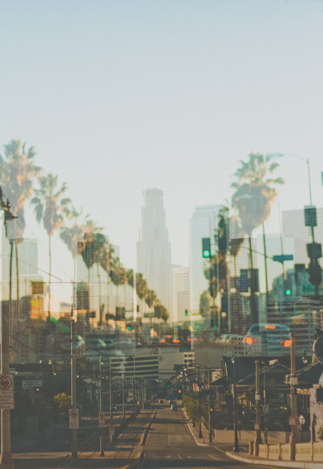 La Everyday With Images City Of Angels California Dreamin Scenery