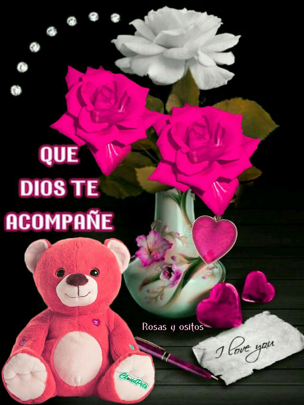 Poemas De Amor Osos Rosas Y Corazones