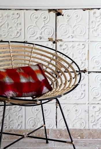 Fauteuil Arrondi Dutchbone Decoration Interieure Decoration Maison Fauteuil