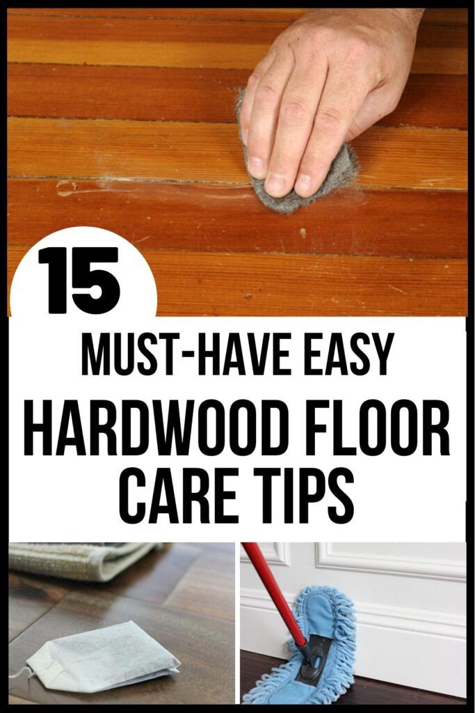 Worried you aren't cleaning hardwood floors right? Grab these must-have tips to make caring for hardwood floors easier. Caring for hardwood floors just got (naturally) easy! #cleaningtips #cleaninghacks #woodenfloor #hardwoodfloor #hacks