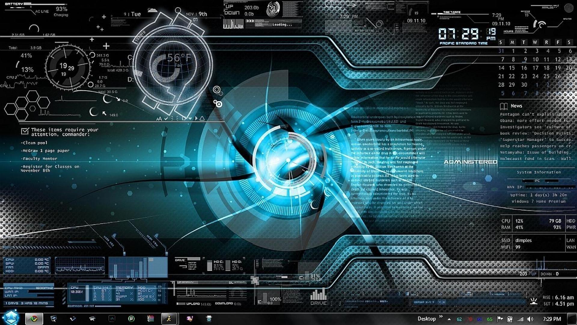 New Science Fiction Desktop Wallpaper Sci Fi Wallpaper Computer Wallpaper Desktop Themes