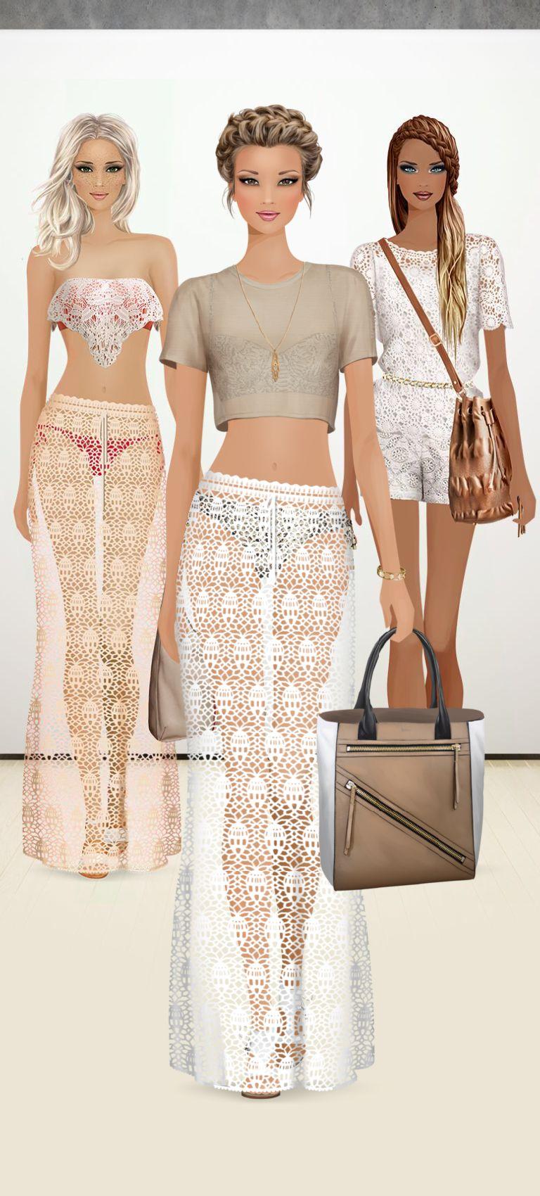 Fashion Game Desenhos De Moda Moda