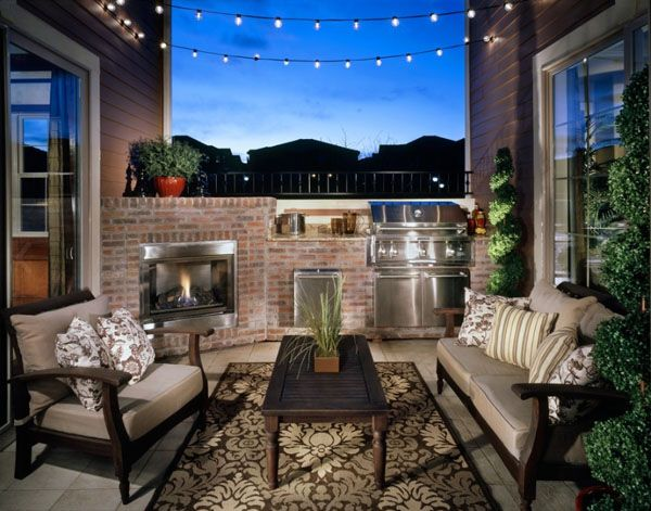 outdoor lights for stringing | These wonderful lights were just a string of large bulb holiday lights ...