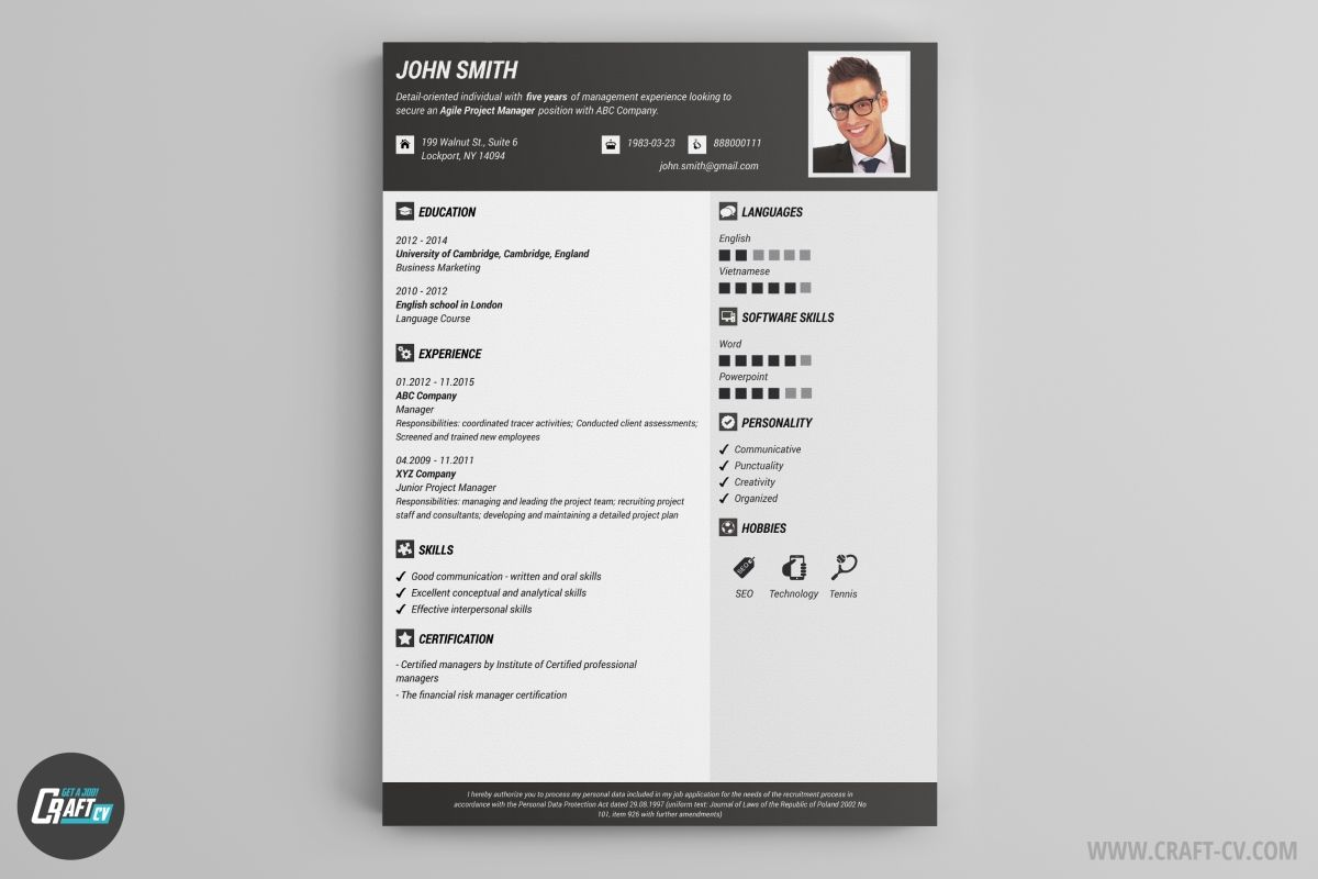 Resume Builder 36 Resume Templates Download Craftcv Free
