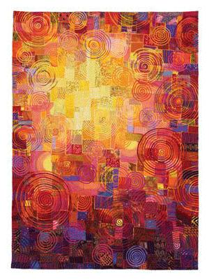 sunlit quilt design by carol taylor