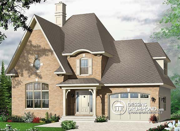 Nice Eplans European House Plan   European Style, Compact Footprint   1758  Square Feet And 3 Bedrooms From Eplans   House Plan Code