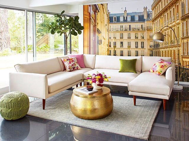 Nica Sectional Sofa @!world Market 1/17 · Cost PlusWorld ...