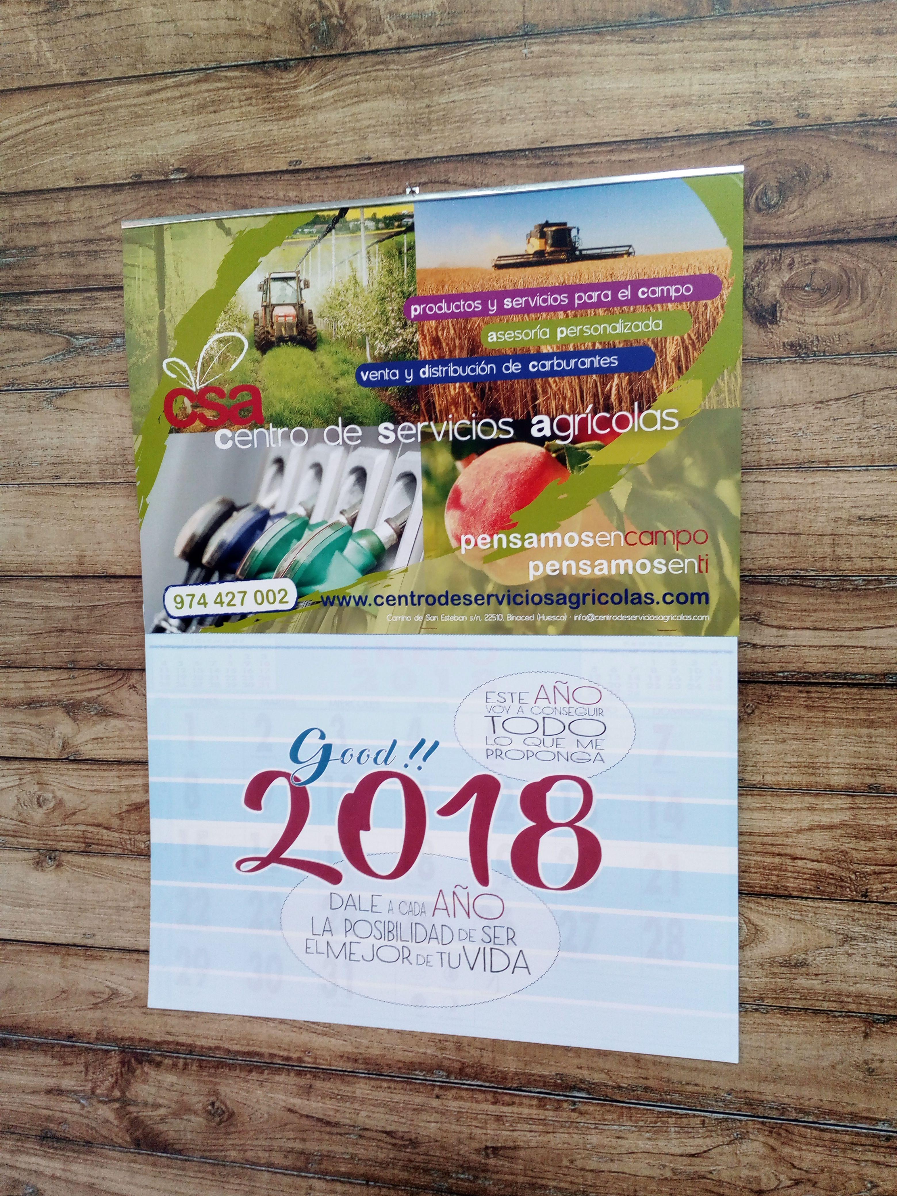Calendario con faldilla personalizado 31,5 cm | Calendarios de pared ...