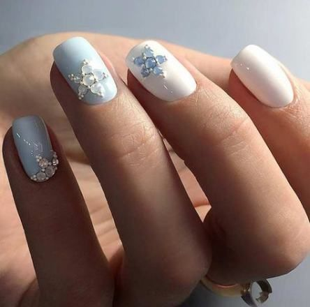 super nails gel tips silver glitter ideas in 2020  trendy