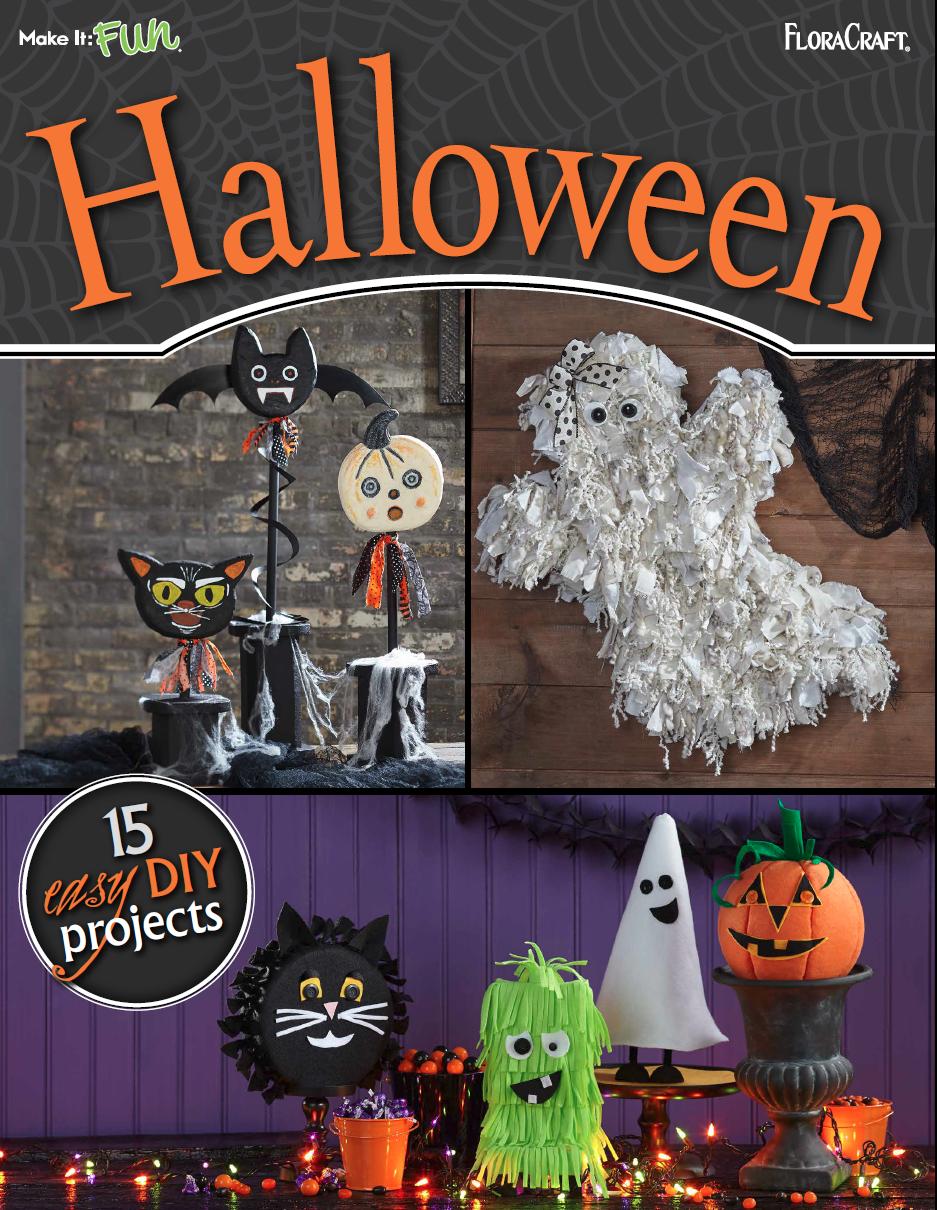 Halloween Craft Ideas 15 Easy DIY Projects Halloween