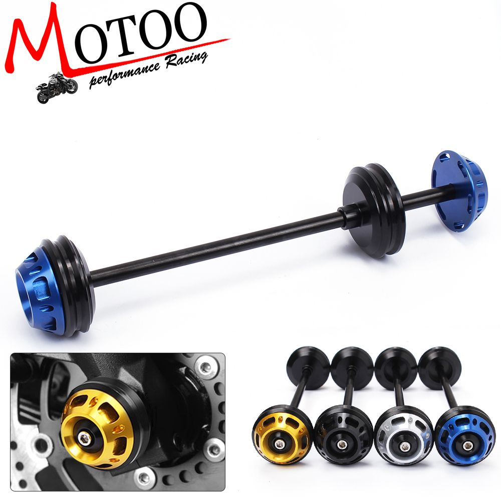 Motoo Motorcycle Cnc Front Axle Slider Frame Sliders Crash Protector For Yamaha Mt 09 Mt 07 2014 2016 Motorcycle Accessories Frame Motorcycle