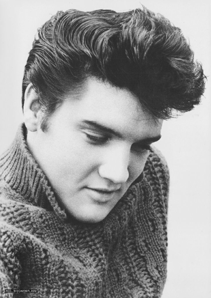 Pompadour Jets Only Mens Hairstyles Elvis Presley Womens Hairstyles
