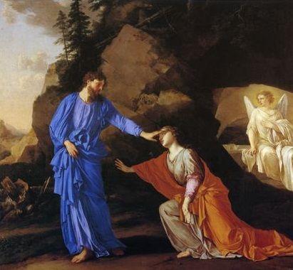 Laurent De La Hyre 1606 1656 Noli Me Tangere Noli Me Tangere Mary Magdalene Classic Paintings