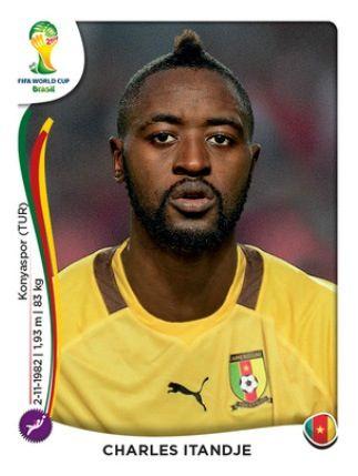 Camerun Charles Itandje Cromos Futbol Fifa