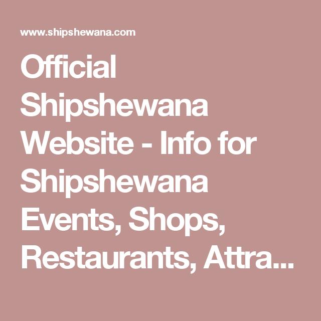 Official Shipshewana Website Info For Shipshewana Events Shops