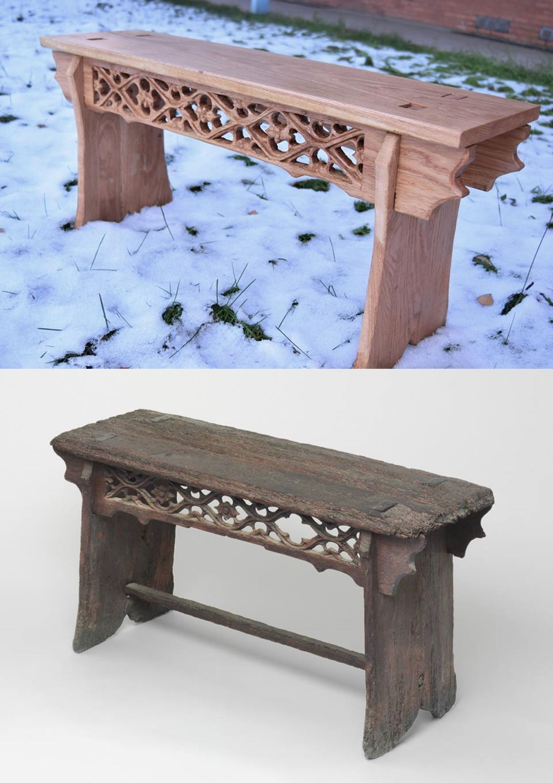 Pleasing Medieval Bench 15Th Century Netherlands Oak In 2019 Machost Co Dining Chair Design Ideas Machostcouk