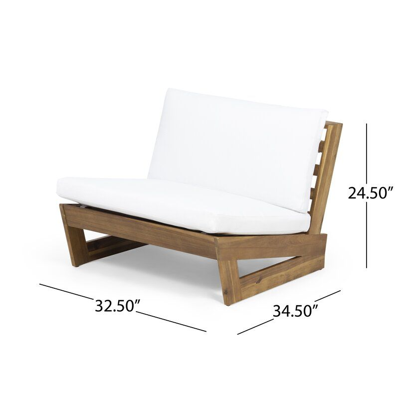 Pekalongan Outdoor Patio Chair With Cushions Reviews Allmodern Furniture Lounge Chair Outdoor Pallet Lounge