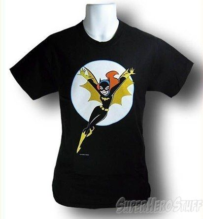 Batgirl I Animated Adult Mens T-Shirt @ Superhero Stuff, $19.99