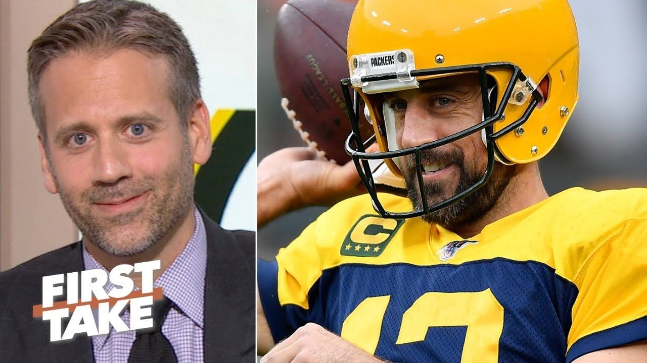Aaron Rodgers Gets To Relax Now That The Packers Defense Is Stronger Max Kellerman First Take Max Kellerman Aaron Rodgers Nfl Sports