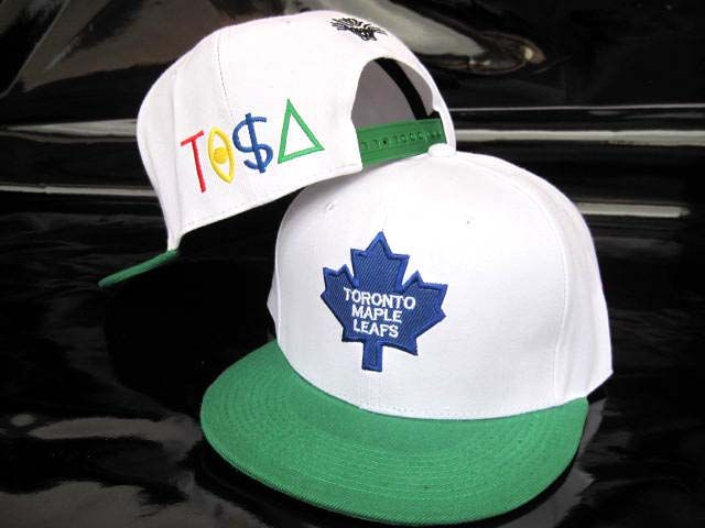 separation shoes 20896 d8459 ... discount code for nhl toronto maple leafs tisa white green snapback  hats caps 5188 only 8.90 ...