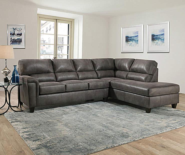 Lane Home Solutions Navigation Gray Living Room Sectional Big Lots Big Lots Furniture Living Room Grey Living Room Sectional