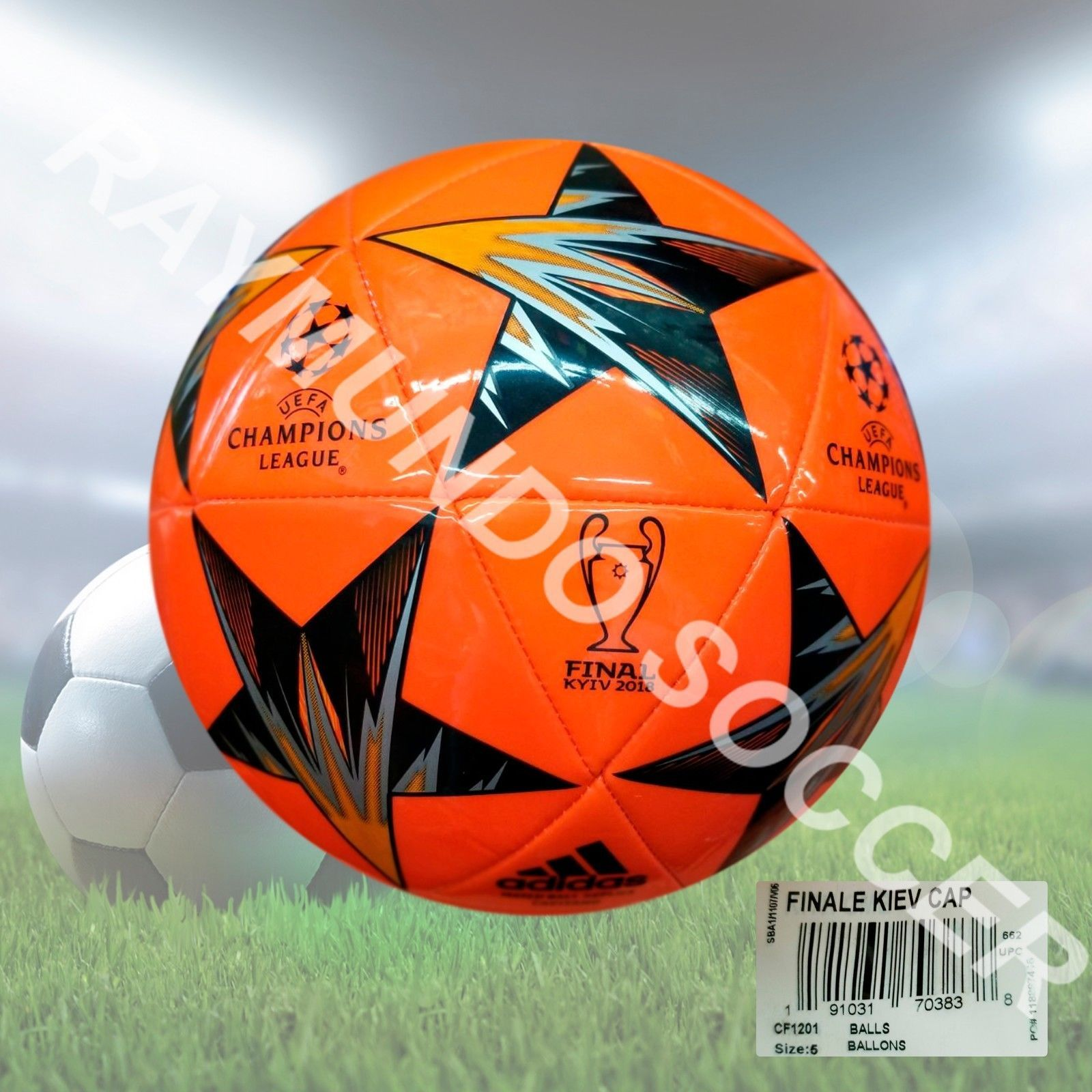 Balls 20863  Adidas Soccer Ball Match Champions League Final Kiev 2018  Capitano Orange -  BUY IT NOW ONLY   22 on eBay! 2da1167a66782