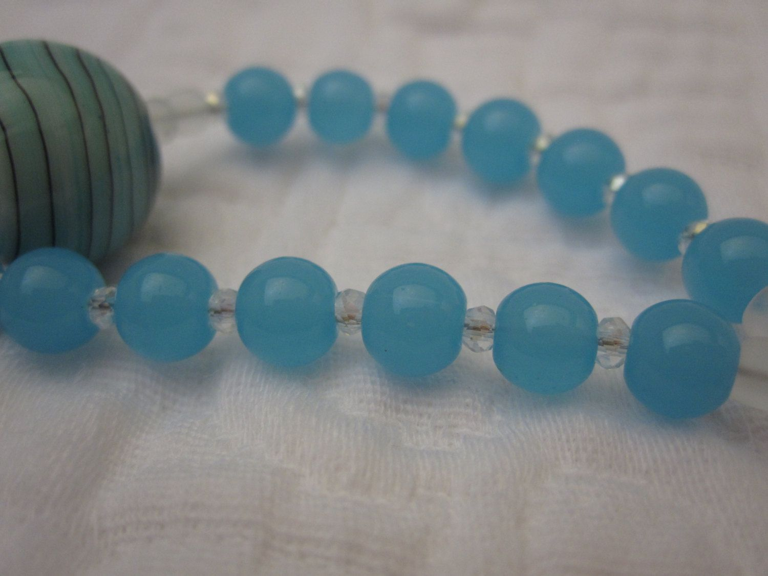Prayer Beads - Anglican, Protestant - Glass, Cross, Rosary by 1Bead1Prayer on Etsy