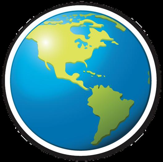 Earth Globe Americas Earth Globe Emoji Stickers Aesthetic Stickers