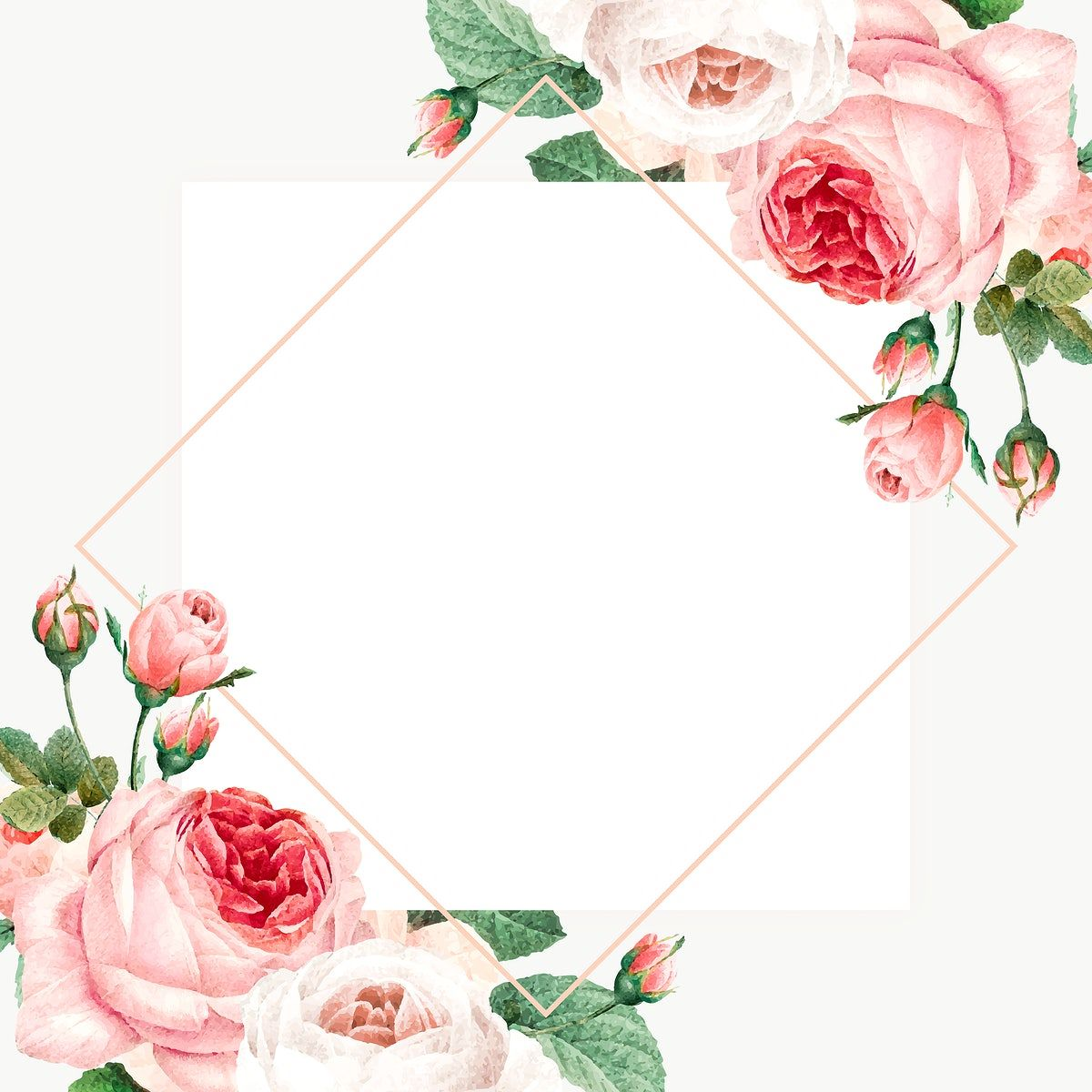 Pin By Rawpixel On Creativity In 2020 Flower Graphic Design Flower Frame Flower Illustration