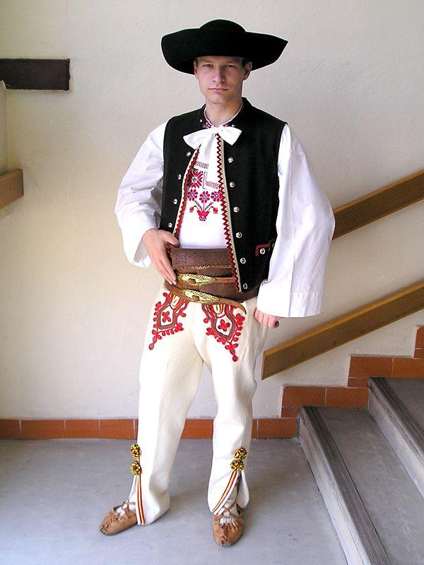 Traditional Folk Clothing Worn In Liptovsk 233 Sliače