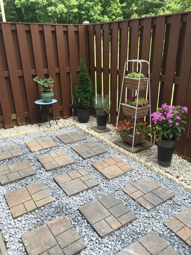 Backyard Makeover DIY Landscaping Project Small
