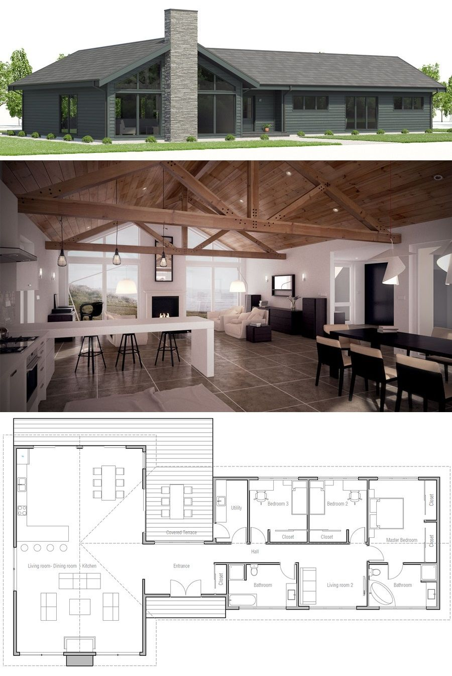 ff05c2a519d990a3b98986236364ed1a - View Small House Design Archdaily Pictures
