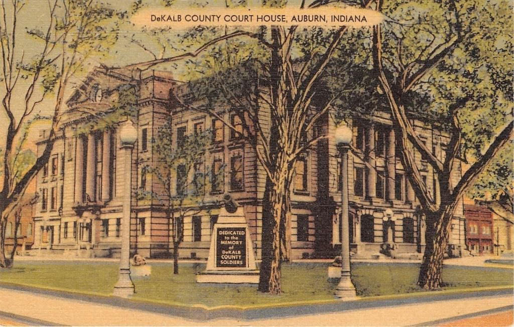 Brilliant Dekalb County Court House Auburn Indiana Dekalb County Download Free Architecture Designs Scobabritishbridgeorg