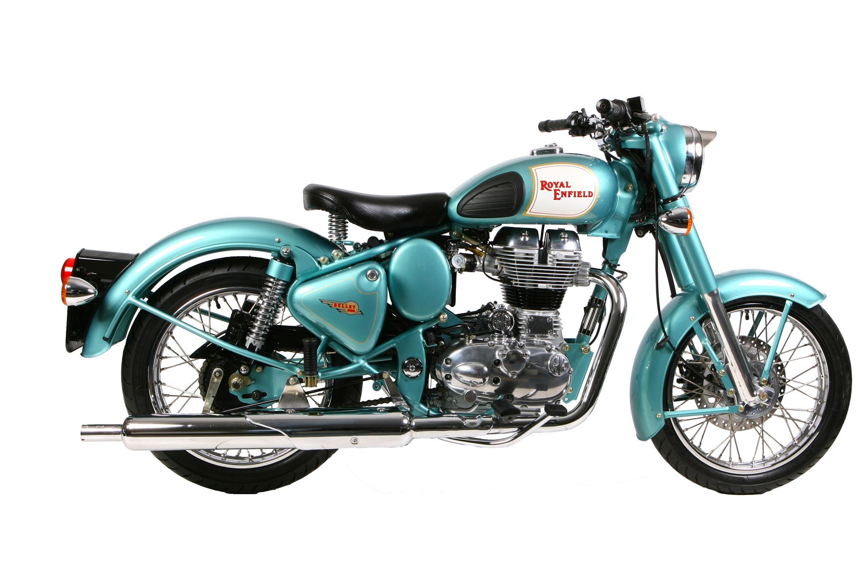 Royal enfield bullet pictures - Motos Royal Enfield Make Like A Gun