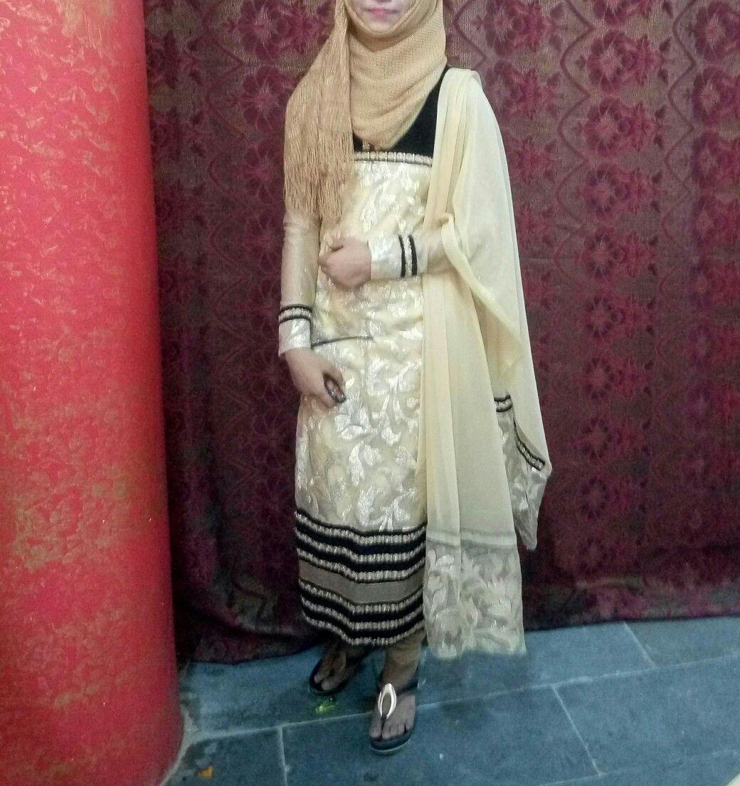 Cream Blackvelvet Pakistanisuit Simran Nizamabad Telangana Coat Pakistani Suits Fashion