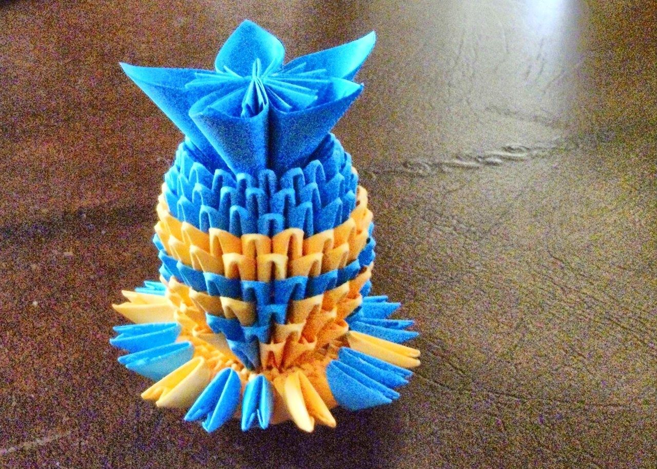 Origami instructions how to make 3d origami vase origami origami instructions how to make 3d origami vase floridaeventfo Image collections