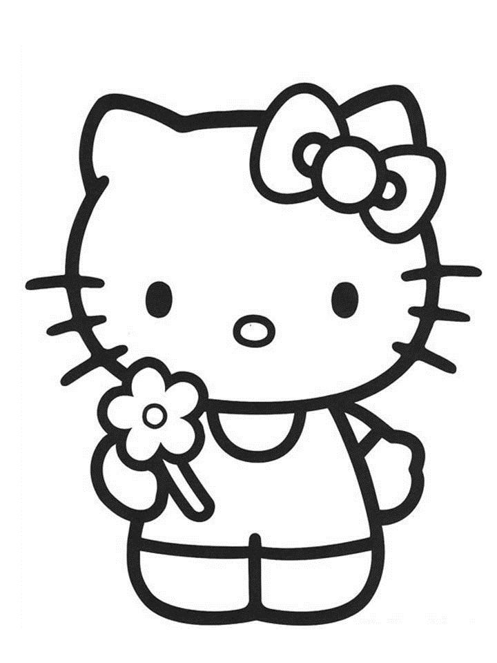 Sanrio Hello Kitty Colouring Pages Hello Kitty Printables Kitty Coloring