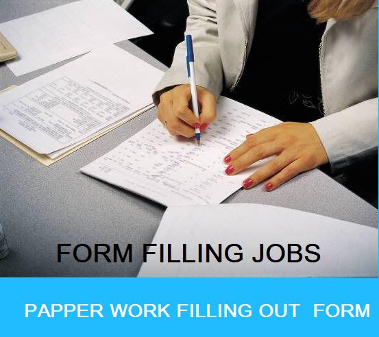 on offline form filling job without registration fees