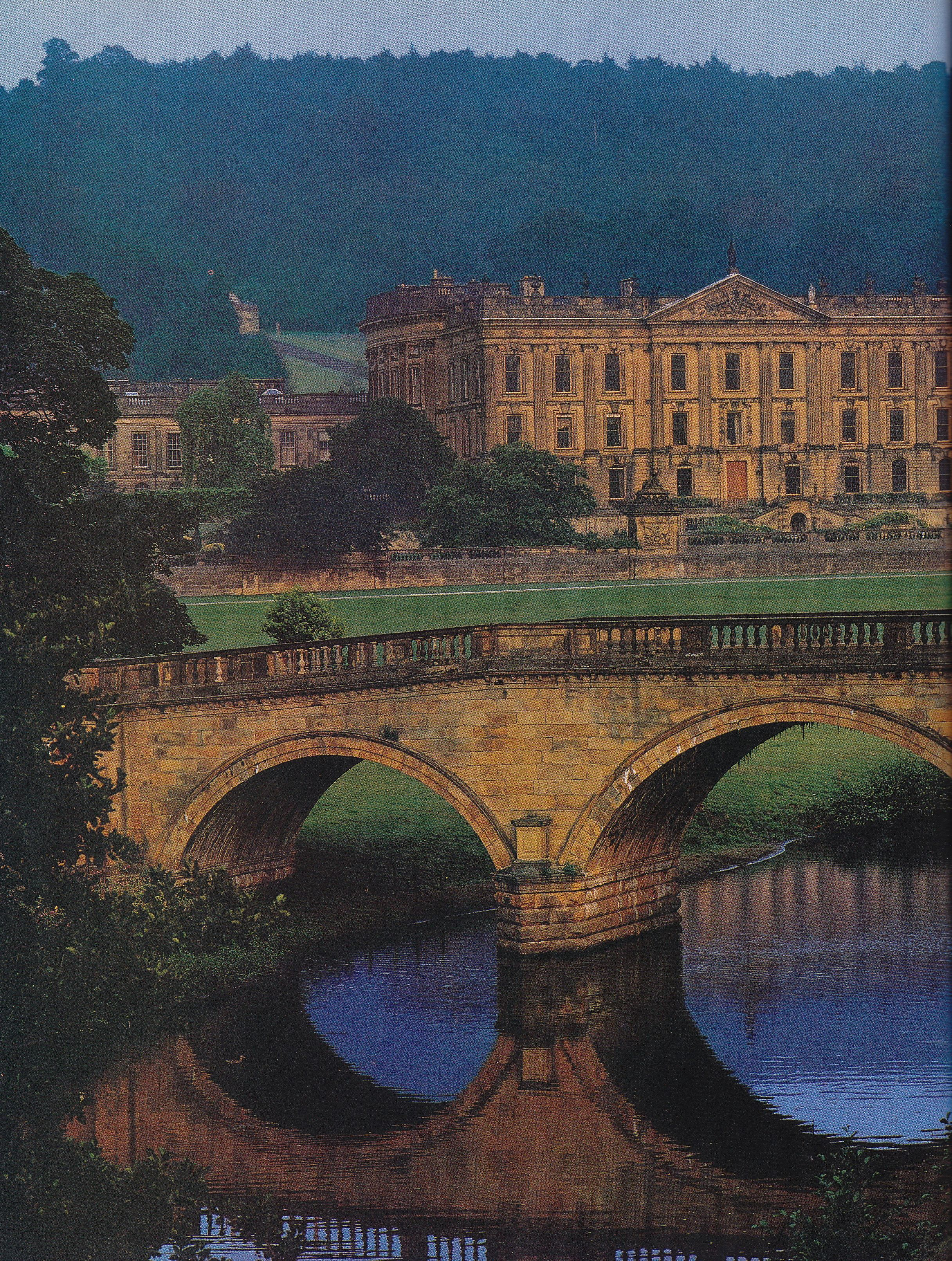 Chatsworth House History: Neoclassical Lawers House In Pertshire, Scotland, Designed