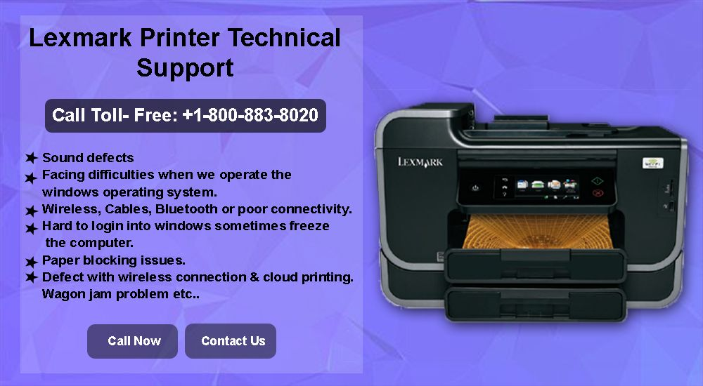 Having Problem With Your Lexmark Printer And Looking For The