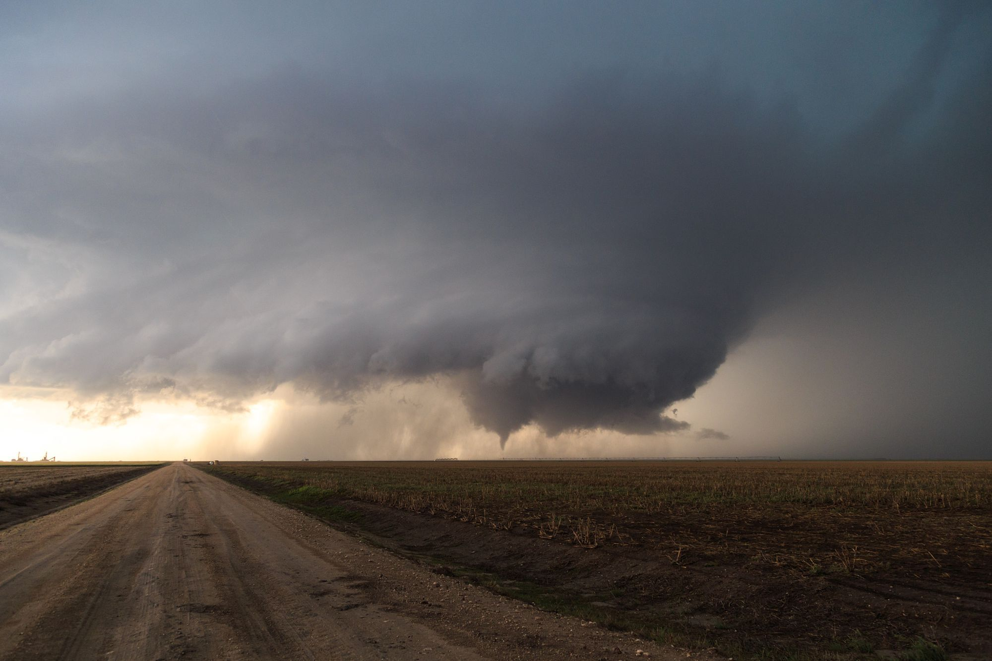 Mothership Supercell and Tornado - Leoti, KS by David  Piano on 500px