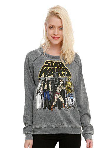 78ef02212b07 Vintage Star Wars is Badass Star Wars Sweatshirt Women s Star Wars ...