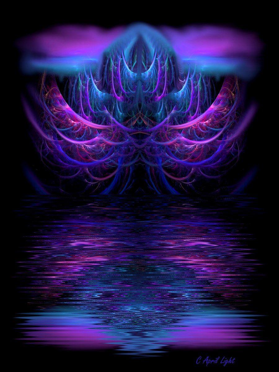 Reflection of  Fairytale Tree by AprilLight on DeviantArt