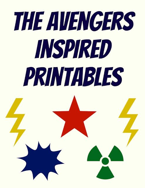 Avengers movie quotes! Free printables.